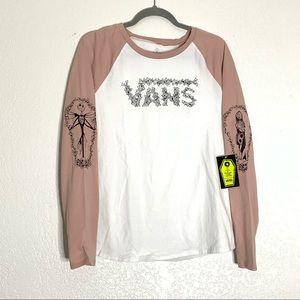 NEW Womens Vans Nightmare Before Christmas T-Shirt
